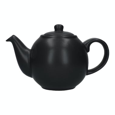London Pottery Globe® 10 Cup Teapot Matt Black
