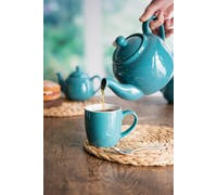 London Pottery Farmhouse® 2 Cup Teapot Aqua