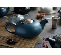 London Pottery Pebble® Filter 2 Cup Teapot Slate