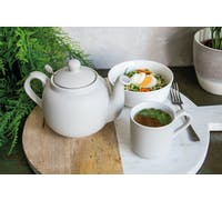 London Pottery Farmhouse® 2 Cup Teapot Nordic Grey