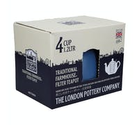 London Pottery Farmhouse® 4 Cup Teapot Nordic Blue