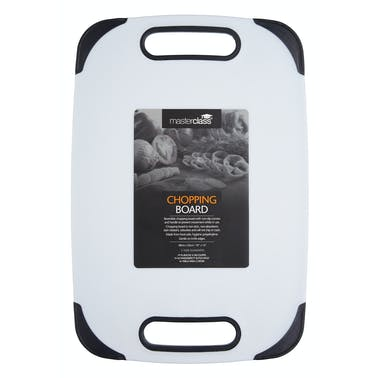 MasterClass Large Non-Slip Polyethylene Cutting Board