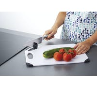 MasterClass Sharpen & Chop' Cutting Board with Knife Sharpener