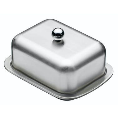 MasterClass Deep Double Walled Insulated Covered Butter Dish