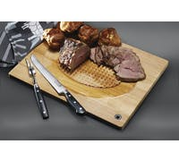 MasterClass Wooden Spiked Carving Board