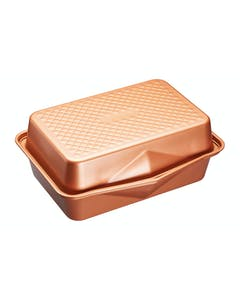 Photo of MasterClass Smart Ceramic 41.5 x 31.5 cm Heavy-Duty Stackable Roasting Pan Set