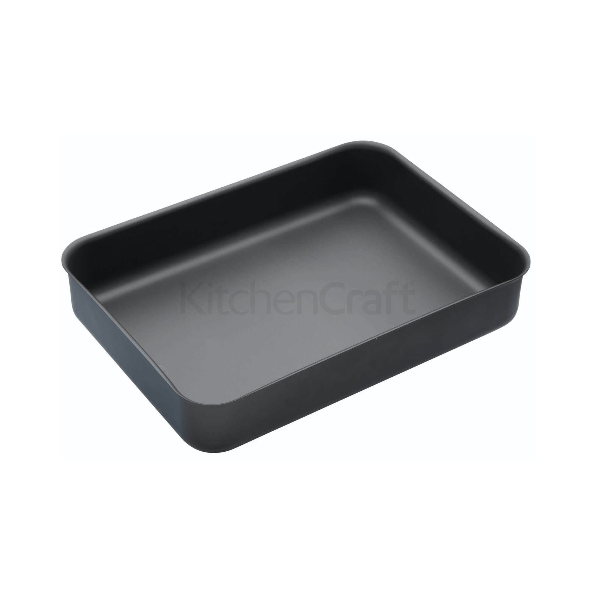 MasterClass Hard Anodised 37cm Roasting Pan | Roasting | Cooking