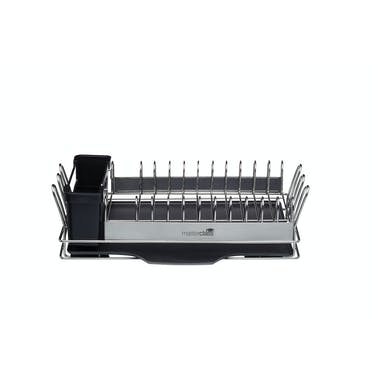 MasterClass Compact Stainless Steel Dish Drainer