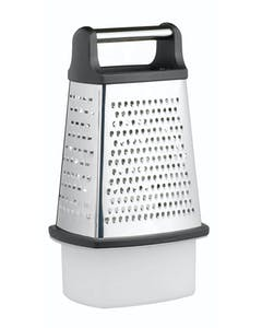 Photo of MasterClass Stainless Steel Four Sided Box Grater With Collecting Box