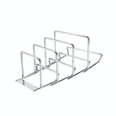 MasterClass Smart Space Expanding Pan Rack / Saucepan Lid Holder