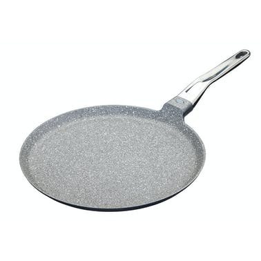MasterClass Cast Aluminium 28cm Crêpe Pan for Induction Hob
