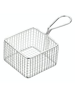 Photo of MasterClass Mini Deluxe Stainless Steel Square Fry Basket