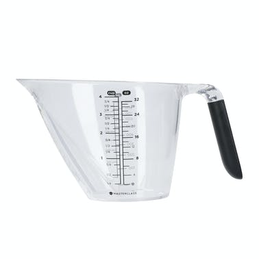 MasterClass Angled Measuring Jug 1 Litre with Handle