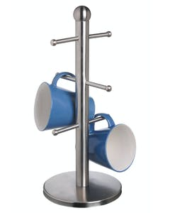 Photo of MasterClass Deluxe Stainless Steel Six Hook Mug Tree