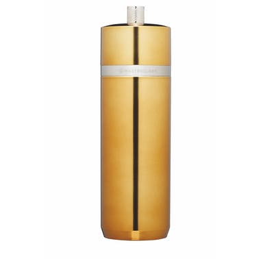 MasterClass Salt or Pepper Mill (17cm) - Brass Finish