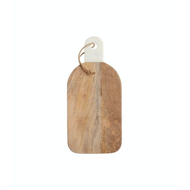 MasterClass Gourmet Prep & Serve Acacia Wood & Marble Paddle Board