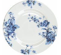 Mikasa Hampton Porcelain 19cm Blue Flower Side Plate