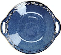 Mikasa Satori Porcelain 28cm Dual Handled Serving Bowl
