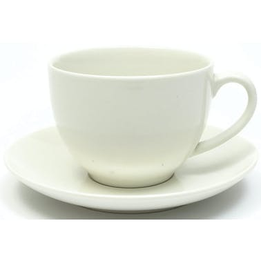 Maxwell & Williams White Basics 200ml Tea Cup And Saucer