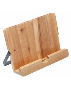 Photo of KitchenCraft Natural Elements Acacia Wood Cookbook / Tablet Stand