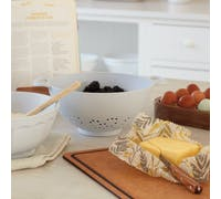 KitchenCraft Natural Elements Eco-Friendly Bamboo Fibre Colander