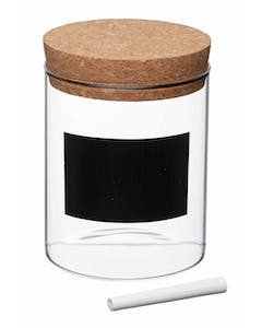Photo of KitchenCraft Natural Elements Eco-Friendly Small Glass Storage Canister