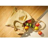 KitchenCraft Natural Elements Reusable Shopping Bag, 41 x 37cm