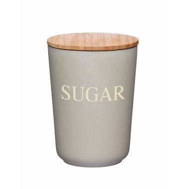 KitchenCraft Natural Elements  Eco-Friendly Bamboo Fibre Sugar Canister