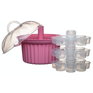 Sweetly Does It Three Tier Cupcake Carrier