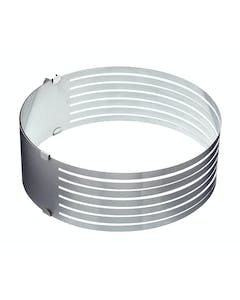 Photo of Sweetly Does It Stainless Steel Adjustable Cake Layer Guide