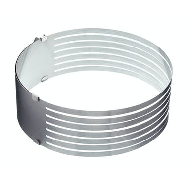 Sweetly Does It Stainless Steel Adjustable Cake Layer Guide