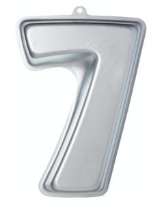 Photo of Sweetly Does It Silver Anodised Number Seven Shaped Cake Pan