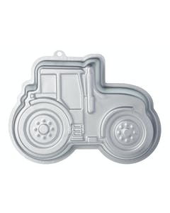 Photo of Sweetly Does It Silver Anodised Tractor Shaped Cake Pan