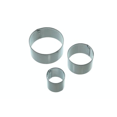Sweetly Does It Set of 3 Round Fondant Cutters