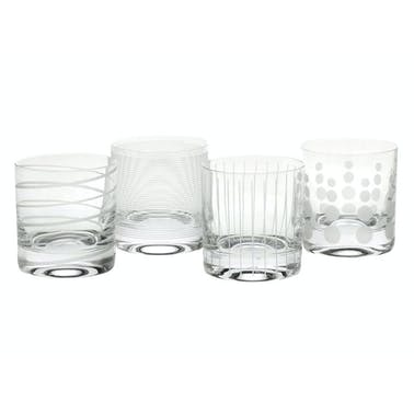 Mikasa Cheers Set Of 4 12.75Oz Tumblers