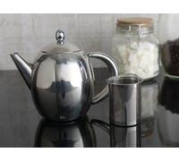 La Cafetiere Paris Four Cup Stainless Steel Teapot