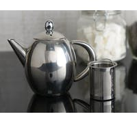 La Cafetiere Paris Six Cup Stainless Steel Teapot