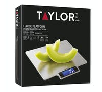 Taylor Pro Large Platform Digital Dual 10Kg Kitchen Scale