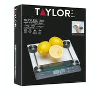 Taylor Pro Touchless TARE Digital Dual 14.4Kg Kitchen Scale