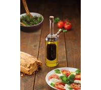 KitchenCraft World of Flavours Italian Dual Oil and Vinegar Bottle