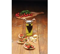 KitchenCraft World of Flavours Italian 2 in 1 Oil & Vinegar Cruet Bottle