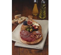 KitchenCraft World of Flavours Italian Olive Wood Antipasti / Serving Board