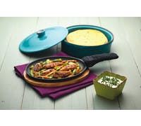 KitchenCraft World of Flavours Cast Iron Fajita Sizzler