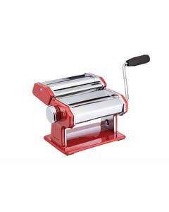 Photo of KitchenCraft World of Flavours Red Stainless Steel Pasta Maker