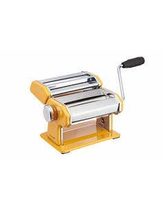Photo of KitchenCraft World of Flavours Yellow Stainless Steel Pasta Maker