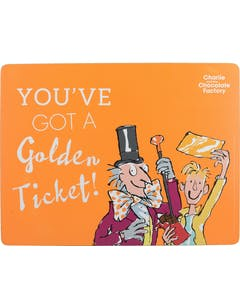 Photo of Roald Dahl Charlie And The Chocolate Factory Single Placemat