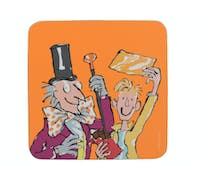 Roald Dahl Charlie And The Chocolate Factory Single Coaster