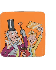 Photo of Roald Dahl Charlie And The Chocolate Factory Single Coaster