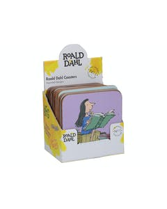 Photo of Roald Dahl 16 Assorted Coasters In Cdu